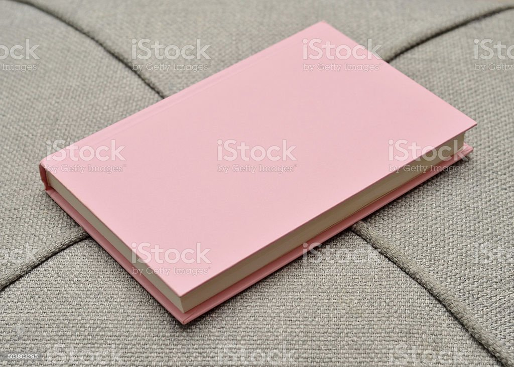Pink Book stock photo