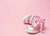 istock Pink Booties 160478457