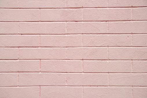 분홍색 벽돌 벽 텍스처 배경 0명에 대한 스톡 사진 및 기타 이미지
