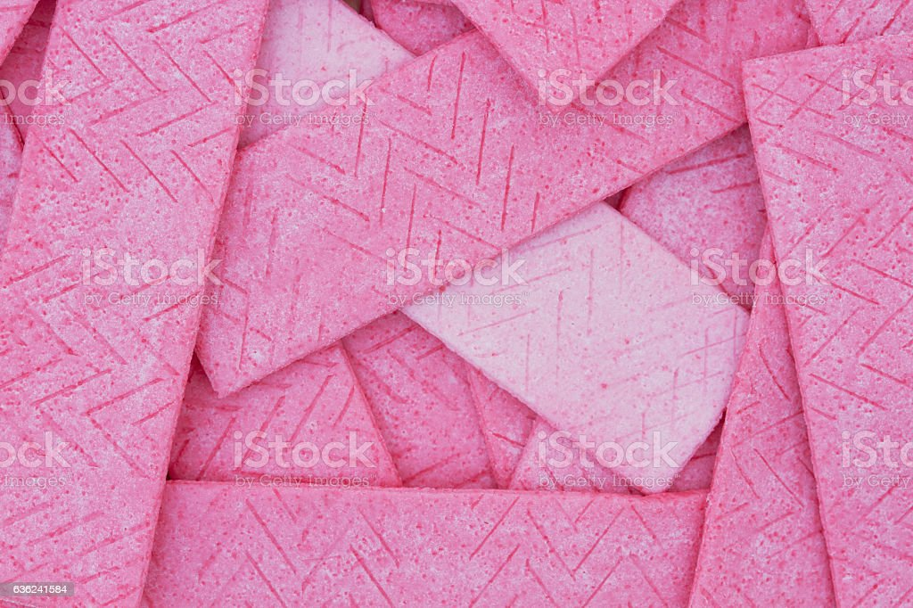 Pink Bubble Gum Background stock photo