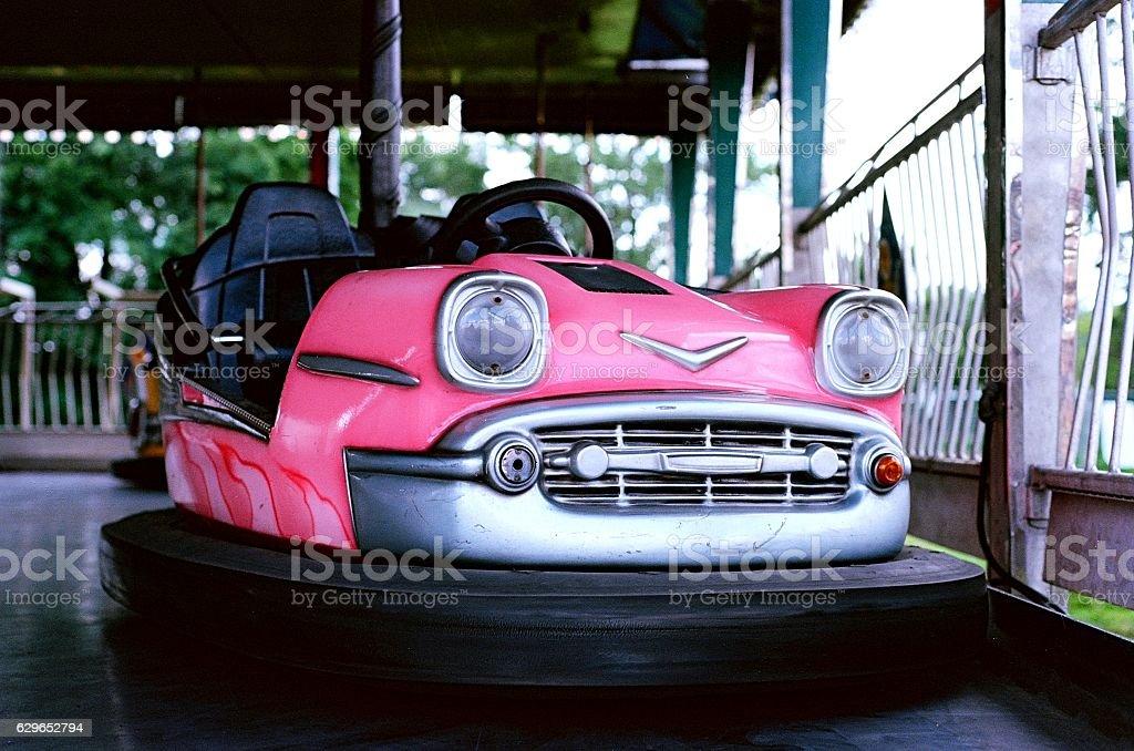 Pink Bumper Car – Foto
