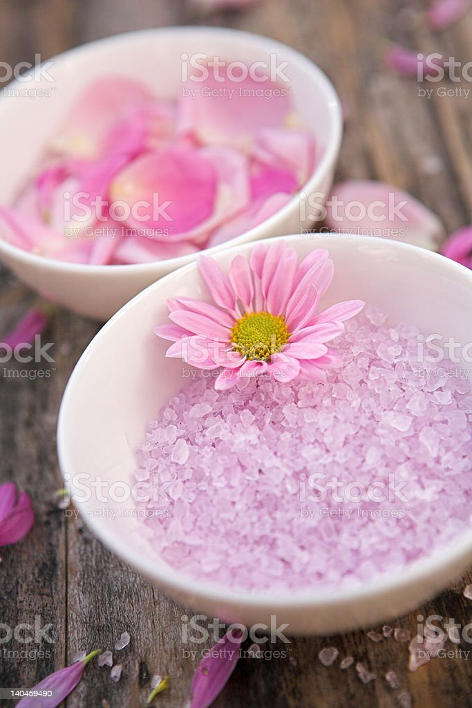 Pink calm royalty-free stock photo
