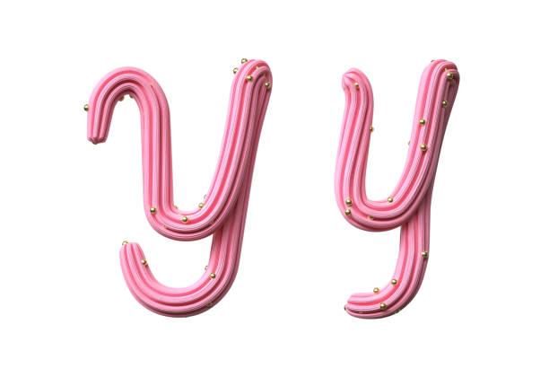 roze candy font - suikerglazuur stockfoto's en -beelden