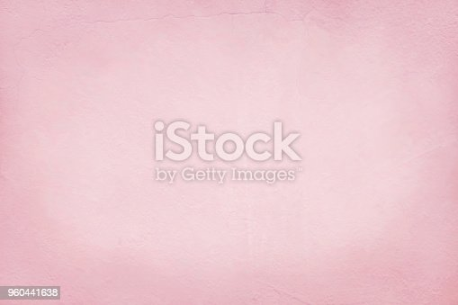 939873258 istock photo Pink cement wall texture for background and design art work. 960441638