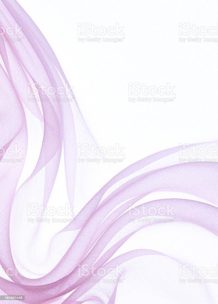 pink chiffon stock photo