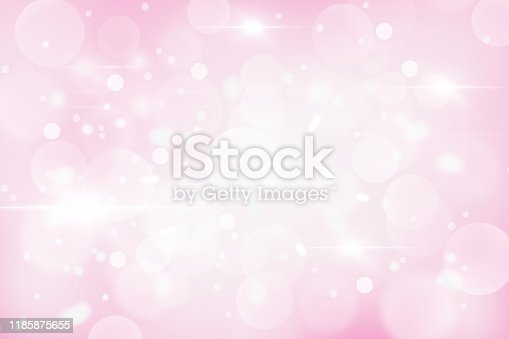 530427918 istock photo Pink Christmas abstract texture background with snowflakes winter and bokeh lights. blurred beautiful shiny Christmas new year, use wallpaper backdrop and your product. 1185875655