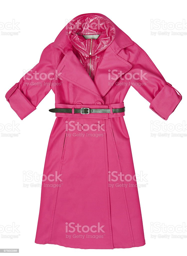 Pink clothes royalty-free stock photo