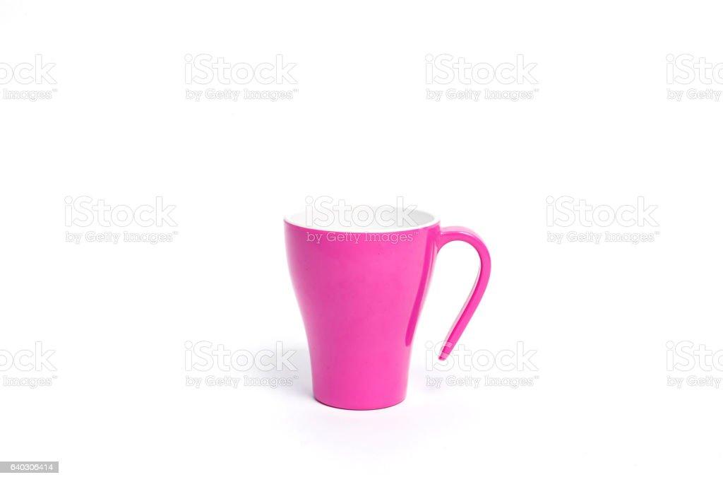 Pink coffee mugs – zdjęcie