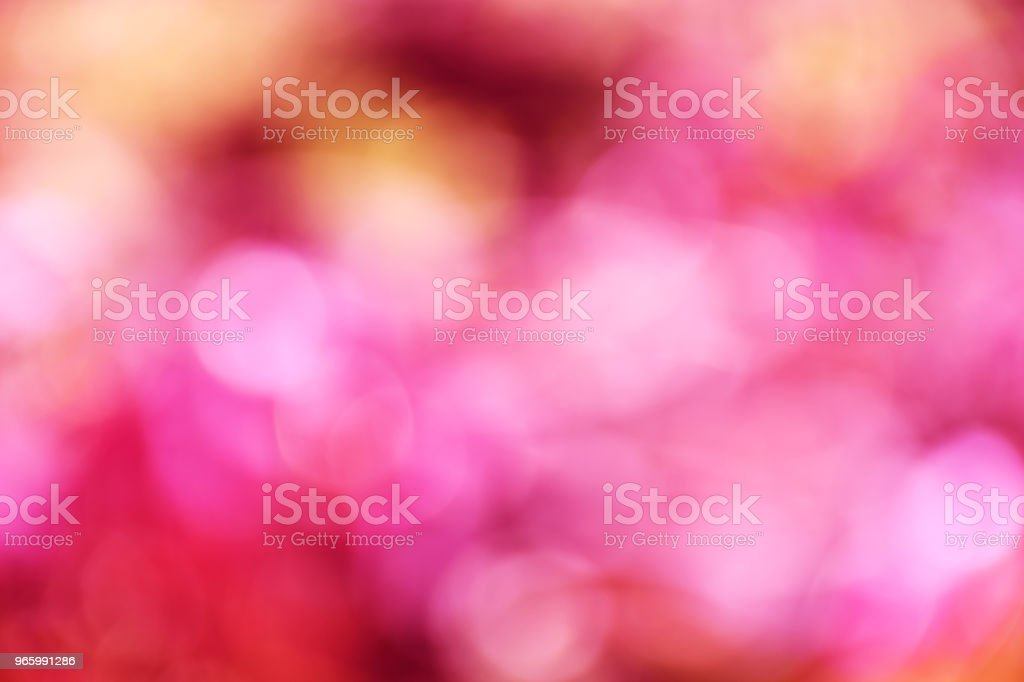 pink color abstract background with blurred defocus bokeh light for template - Royalty-free Abstract Stock Photo