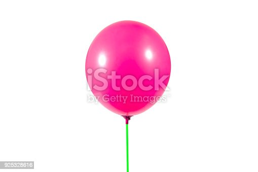 istock Pink color balloon 925328616