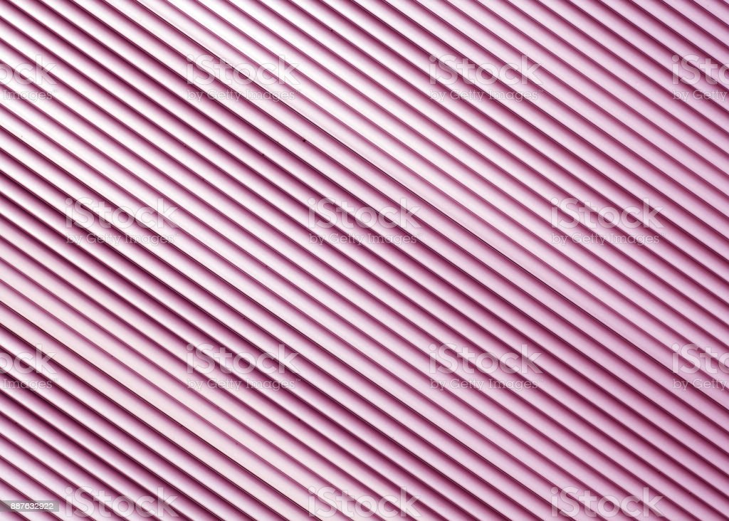 Pink color metal warehouse wall pattern stock photo