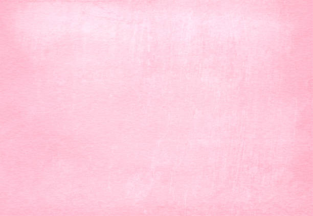 Pink colored grunge effect wall texture background- horizontal illustration stock photo