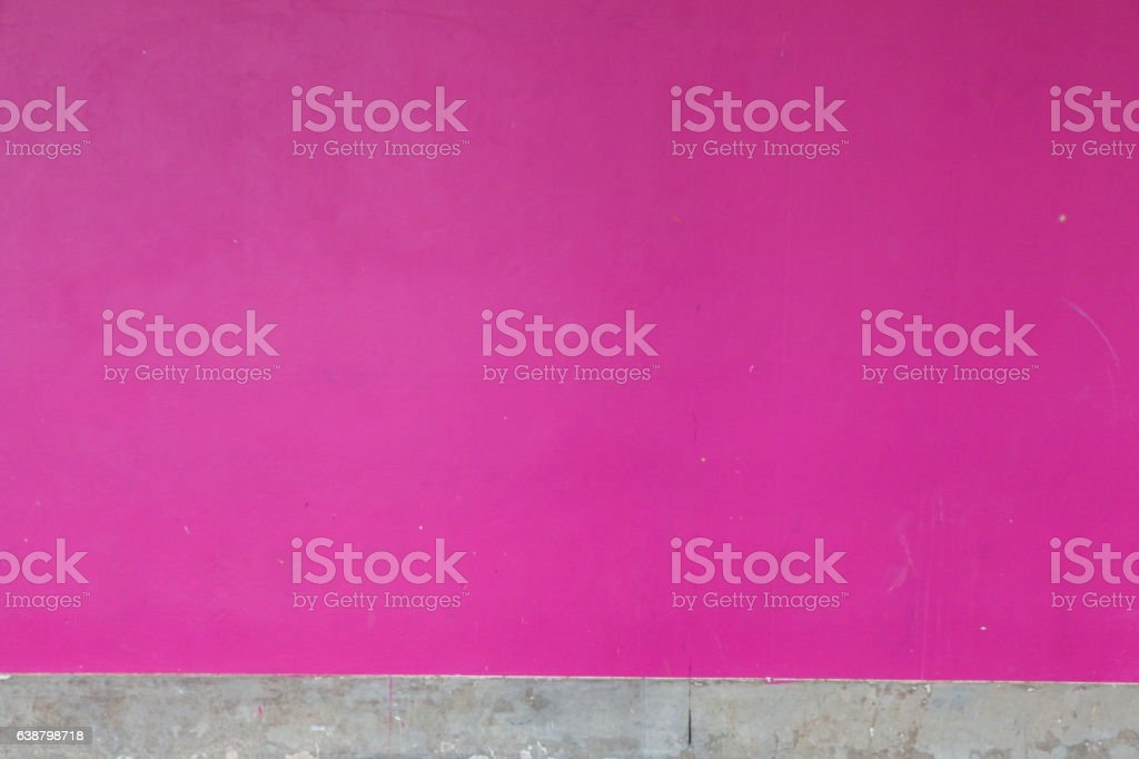 pink concrete wall and skirt stock photo
