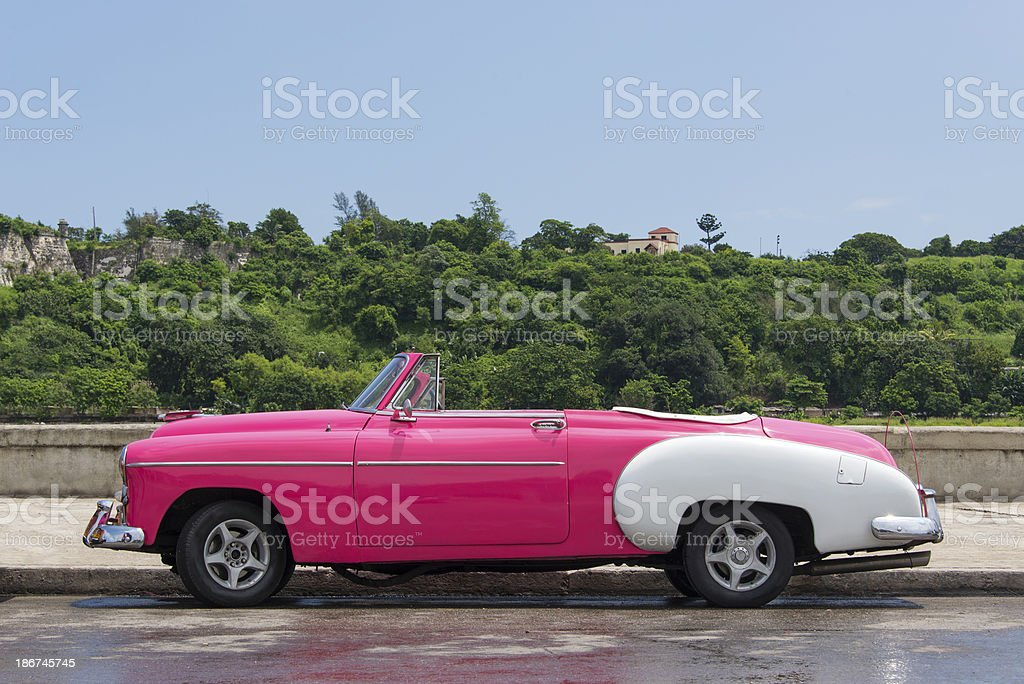 Pink Convertable Classic Stock Photo Download Image Now Istock