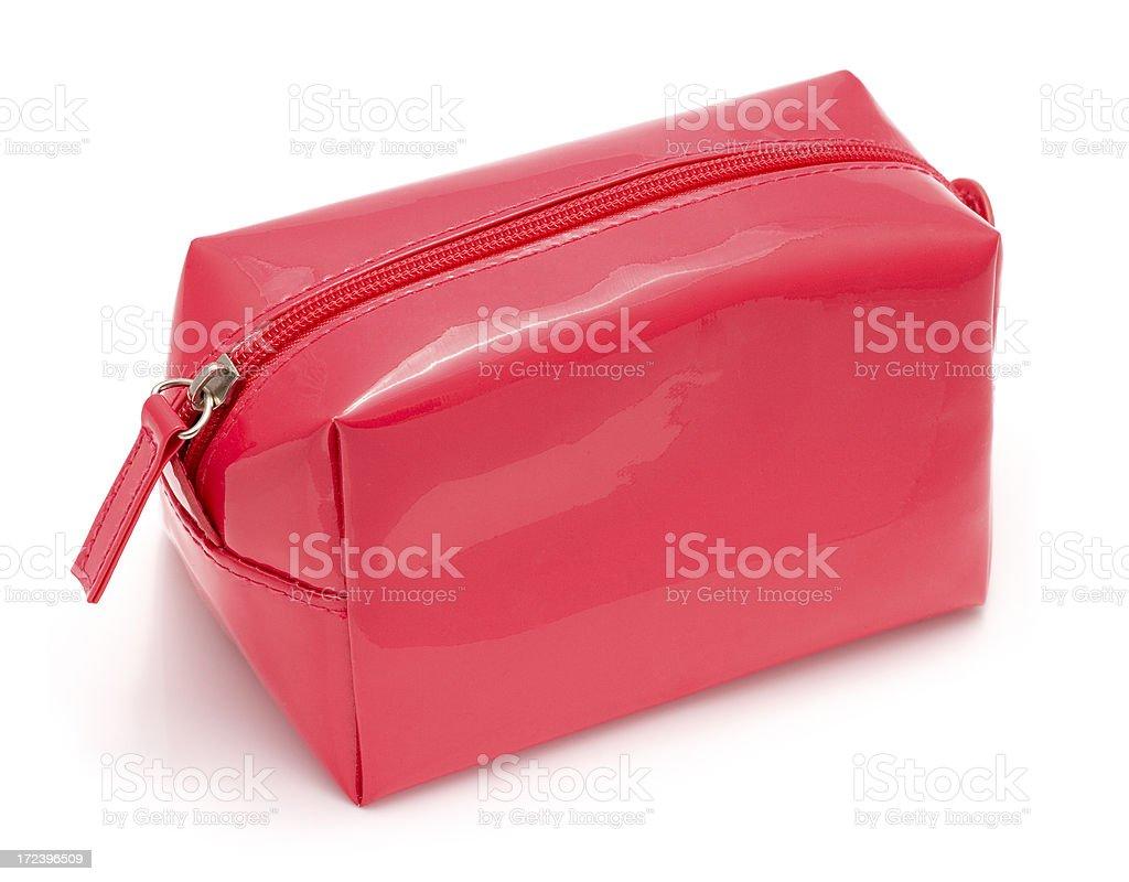 Pink Cosmetics Bag stock photo