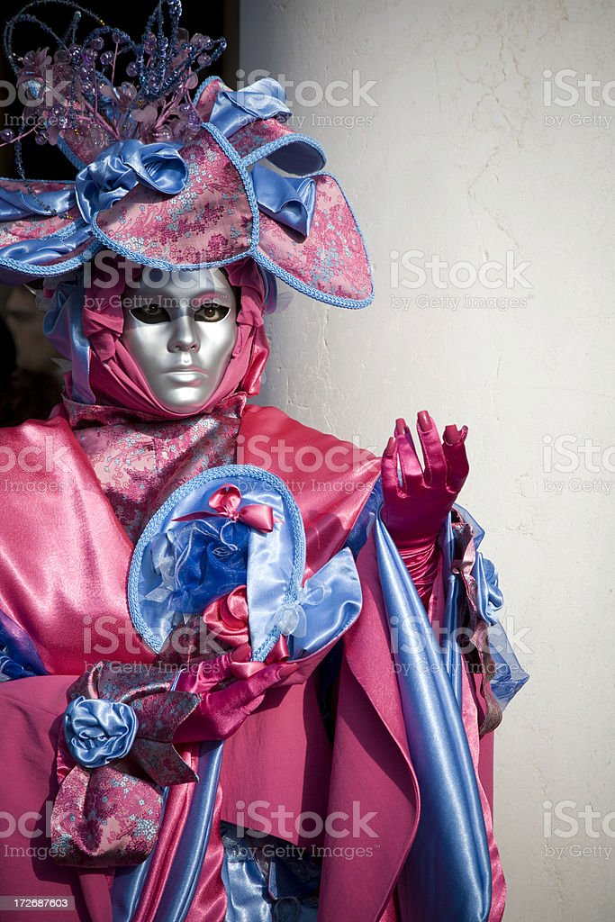 Pink Costume. 2008 royalty-free stock photo