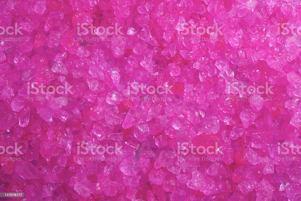 Pink Crystal Rock Background stock photo