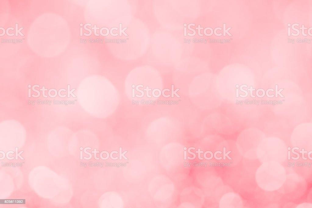 Pink defocused lights background stock photo