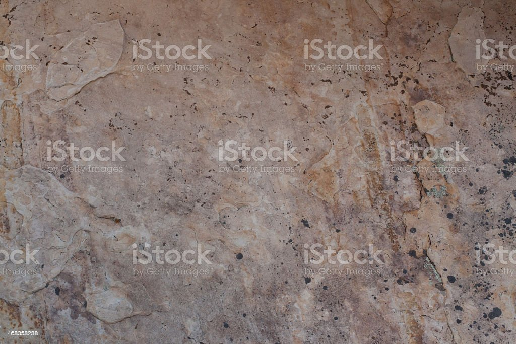 Pink desert rock wall royalty-free stock photo