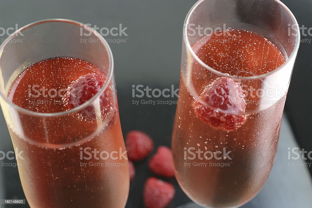 Pink Duo royalty-free stock photo