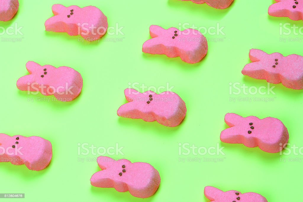 Pink Easter Pattern stock photo