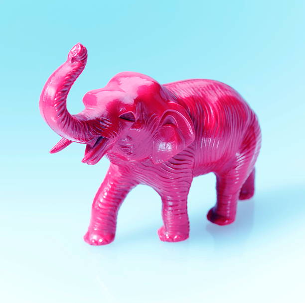 Pink Elephant stock photo