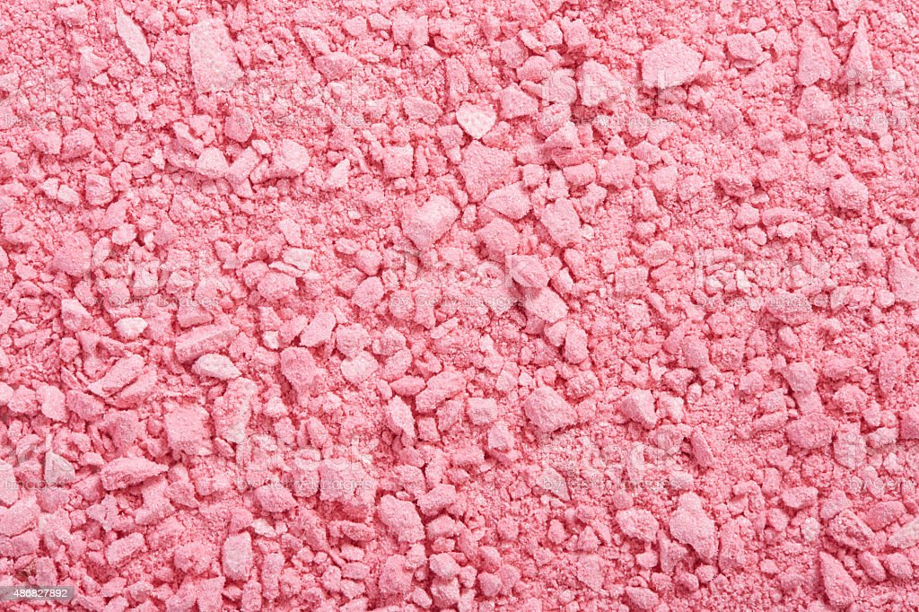 Pink eye shadow powder background stock photo