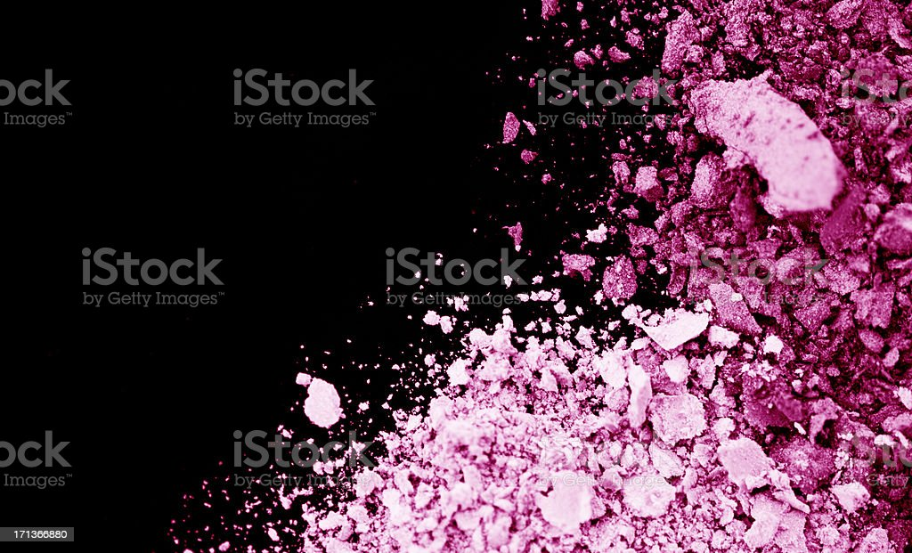 Pink Eyeshadow royalty-free stock photo