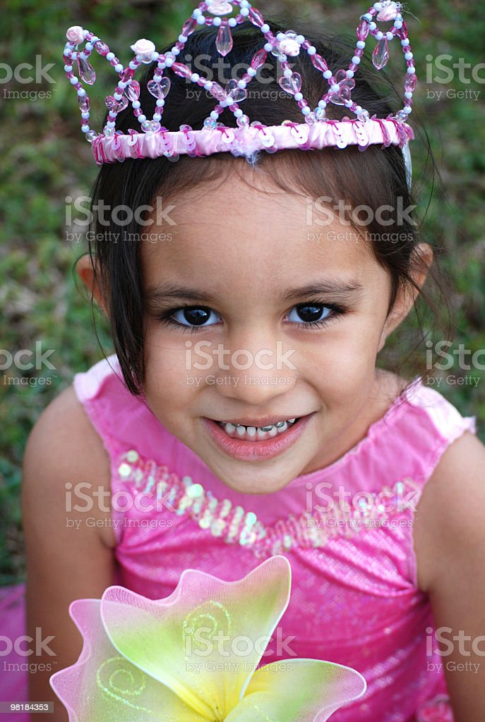 Pink Flower Princess royalty-free stock photo