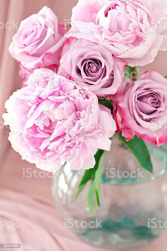 Rosa Blumen. – Foto