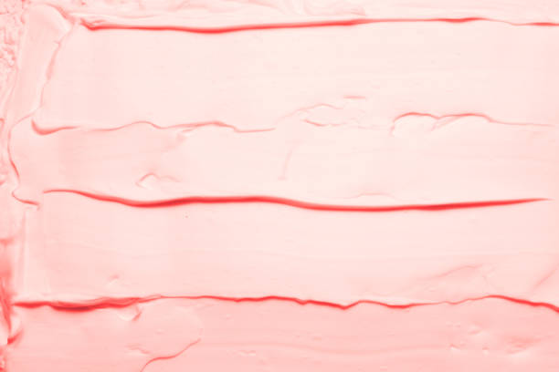 rosa schaum textur hintergrund himbeere eis - schichthaare stock-fotos und bilder