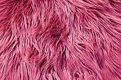 ピンクのファーの背景