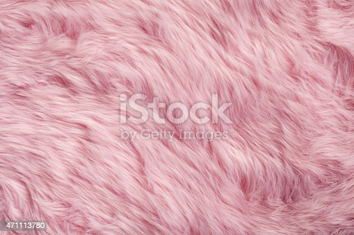 Photography of a pink fur.
