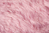 istock Pink fur background 471113780
