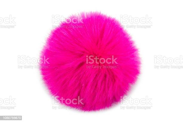 Pink fur ball isolated on white background picture id1050755670?b=1&k=6&m=1050755670&s=612x612&h=fzdwat23ea34bqpwupfigwow50hksuweat7eux7o1sw=