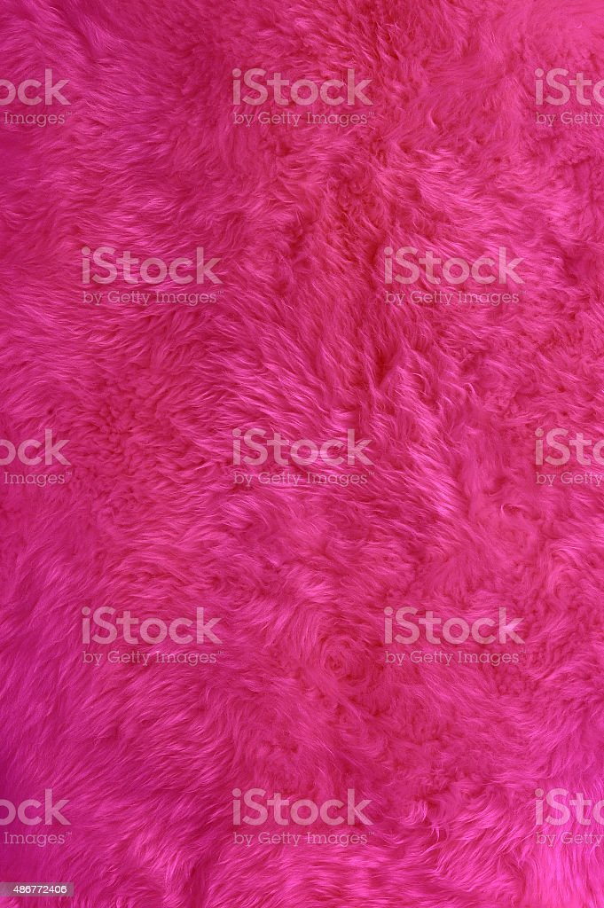pink fur stock photo