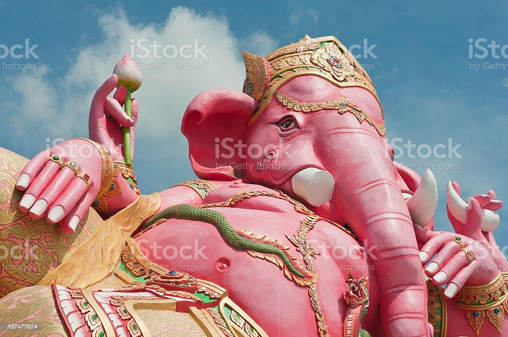 Pink ganesha royalty-free stock photo