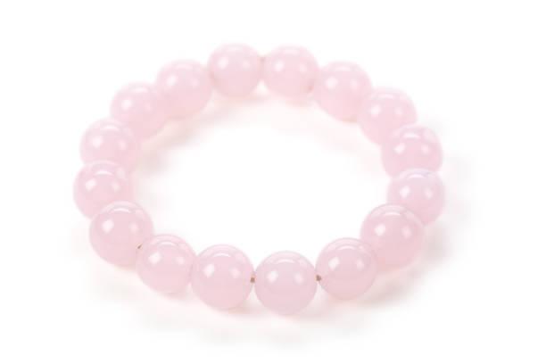 rosa perle armband - canda armband stock-fotos und bilder