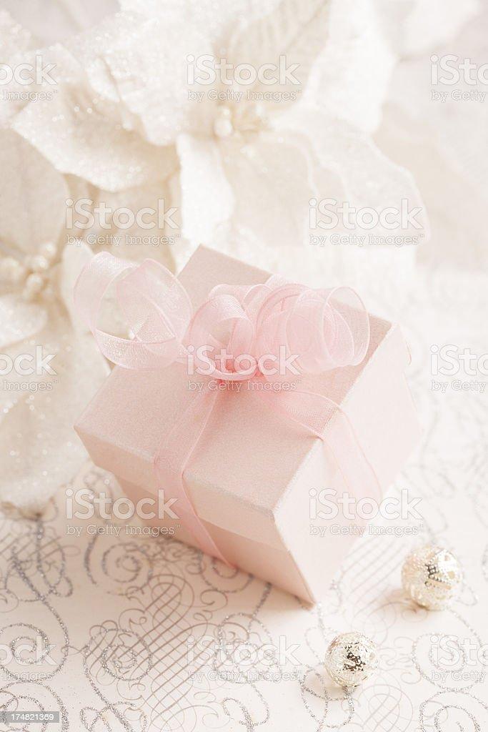 Pink Gift Box royalty-free stock photo