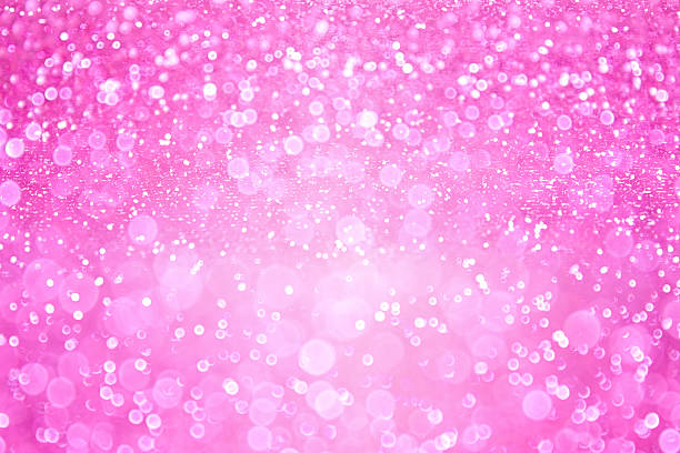 Pink Girl Princess Confetti Background - Photo