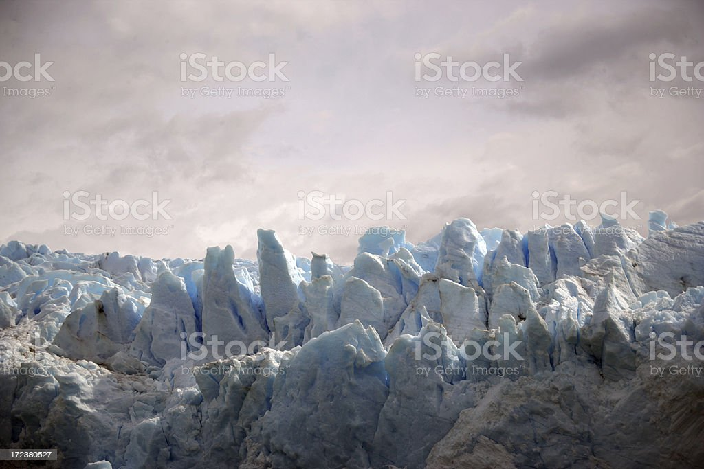 Pink Glacier royalty-free stock photo