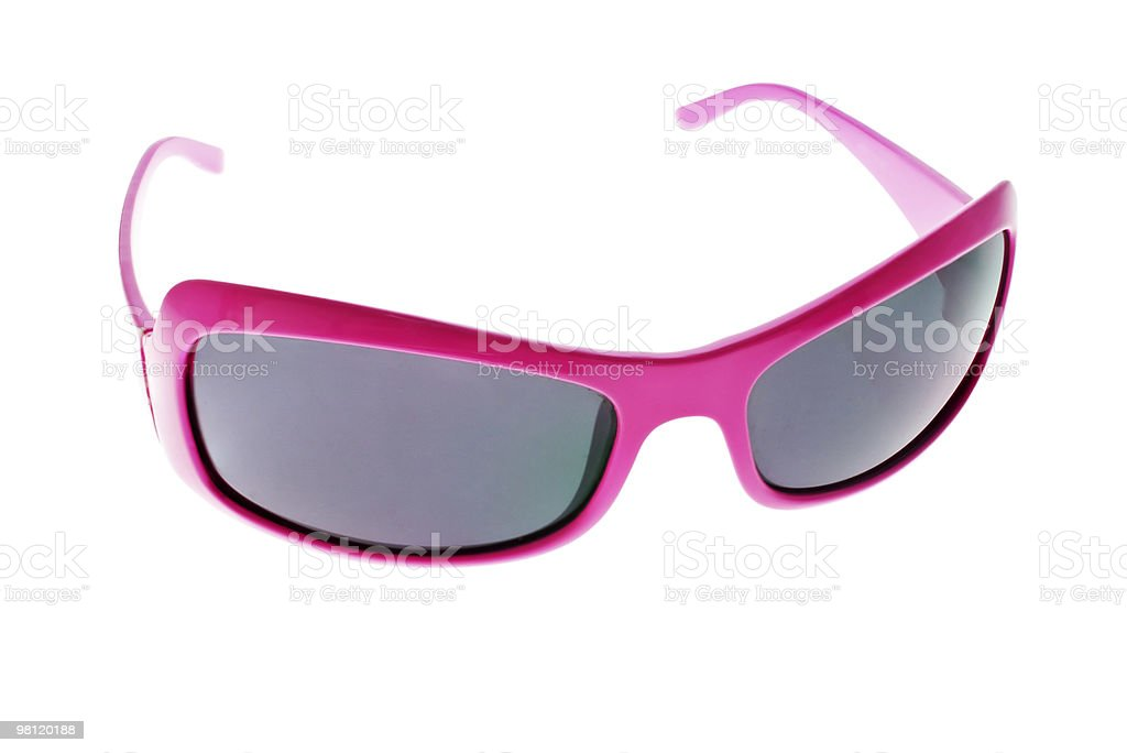 Pink glasses royalty-free stock photo