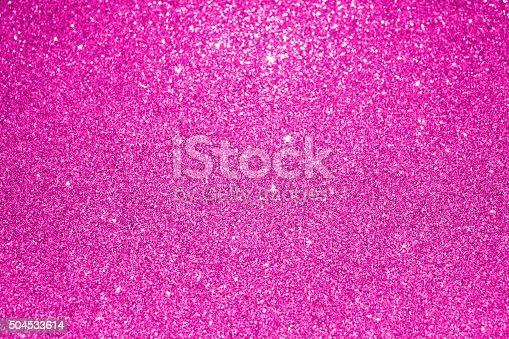 Pink glitter background for festive design