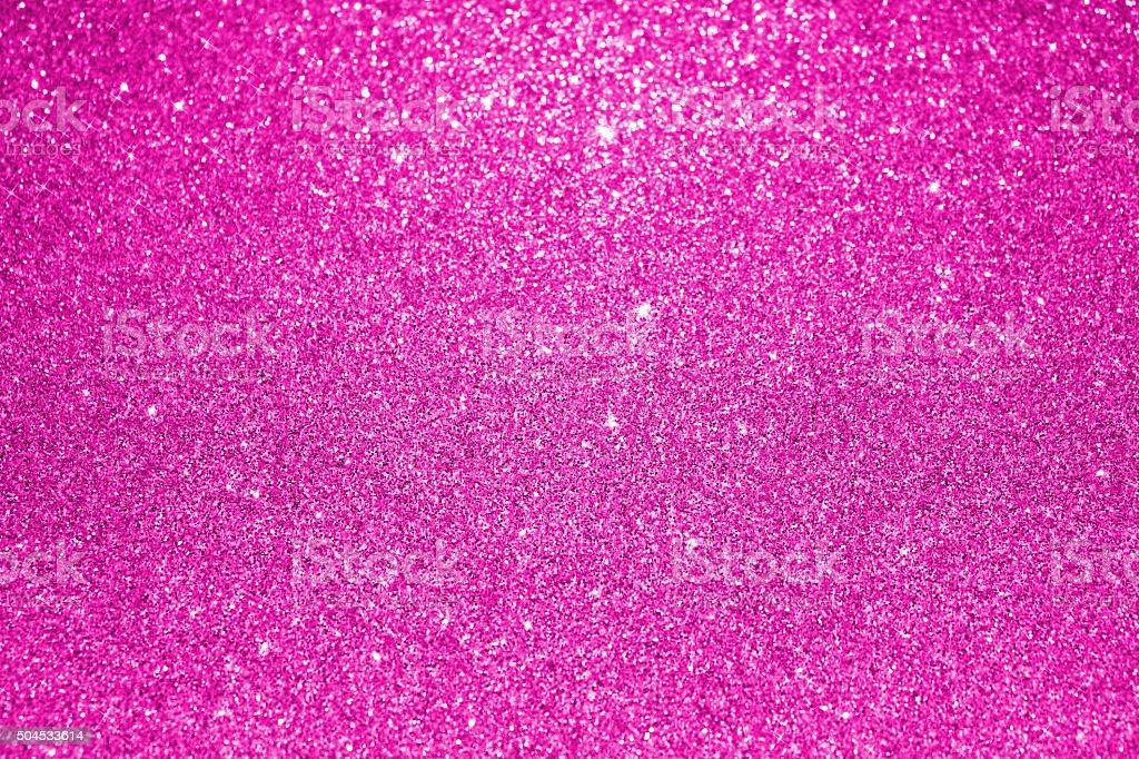 Pink glitter background stock photo