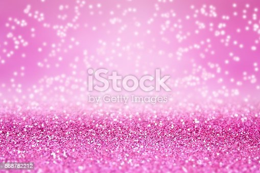 1058078946 istock photo Pink Glitter Sparkle Background for Birthday, Princess or Christmas 868782212