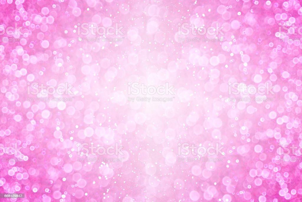 Pink Glitter Sparkle Burst Background stock photo