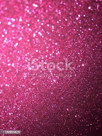 617566268 istock photo Pink glitter texture and bokeh abstract background 1139955825