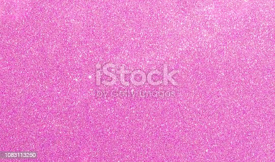 istock Pink glitter texture background 1083113250