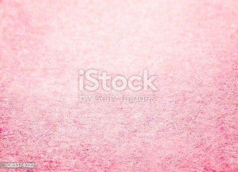 istock Pink glitter texture background 1083374032