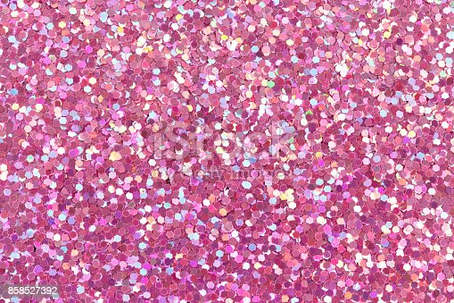 Pink bright glitter texture. High resolution photo.